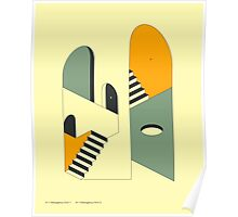 EMERGENCY EXITS (12) Poster