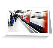 The London Underground Greeting Card
