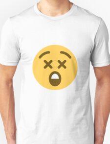 astonished face emoji T-Shirt