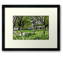 Commonwealth Reserve  Framed Print