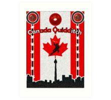 Canada Quidditch Art Print