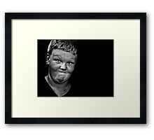 Another day, another harried mother's wish comes true Framed Print