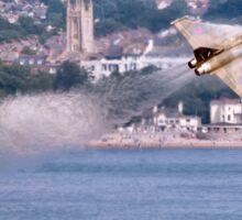Typhoon Passing Exmouth - Dawlish Air Show 2015 Sticker