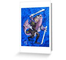 Ninja Fish II Greeting Card