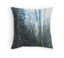 Forestry II Throw Pillow