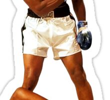 """""""Falling Lessons"""" Ali VS Liston 2, Earth Fists Sticker"""