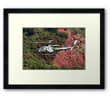 Royal Marines Gazelle Framed Print
