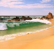 Cabo Beach Seascape by Roupen  Baker
