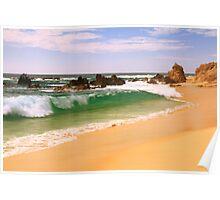 Cabo Beach Seascape Poster