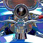 Old Car Hood Ornament by Tina Hailey