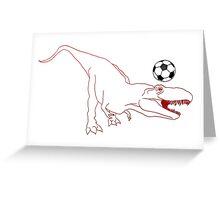 Rex United Greeting Card