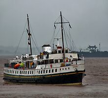 MV Balmoral Approaches Lydney Harbour by © Steve H Clark Photography