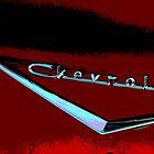 Chevrolet Hood by Tina Hailey