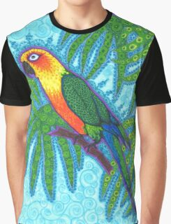 Ronnell's Parrot Graphic T-Shirt