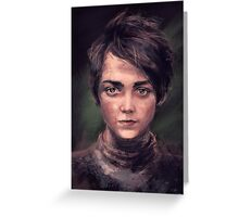 Arya Greeting Card