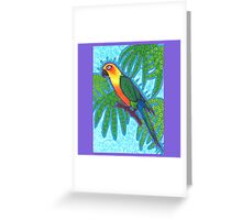 Ronnell's Parrot Greeting Card