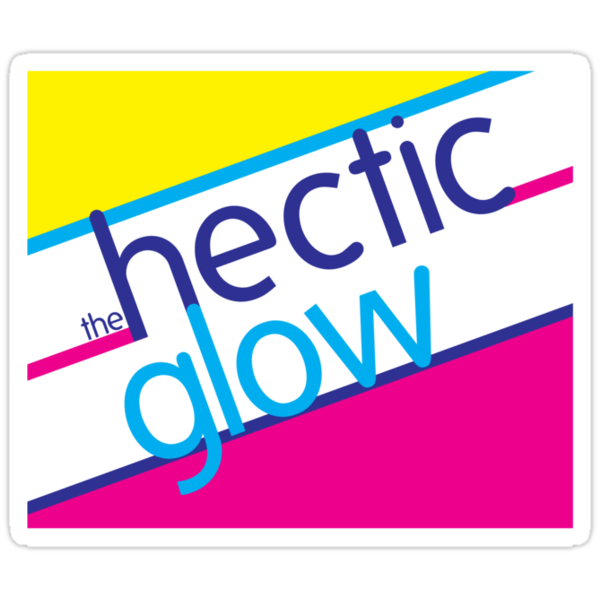 Hectic Glow Sticker by mezzotessitura