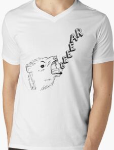 Beeear Mens V-Neck T-Shirt
