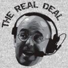 Pierre McGuire Real Deal TeeShirt by kalitarios