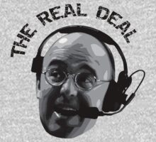 Pierre McGuire Real Deal TeeShirt by kalitarios