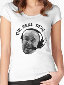 Pierre McGuire Real Deal TeeShirt Women's Fitted Scoop T-Shirt