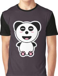 Kawaii Panda Graphic T-Shirt