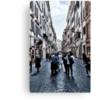 ROME - STREETSCAPE ... (2) Canvas Print
