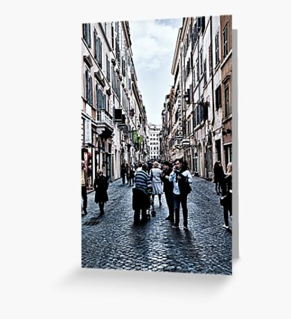 ROME - STREETSCAPE ... (2) Greeting Card