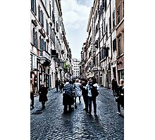 ROME - STREETSCAPE ... (2) Photographic Print