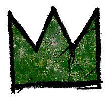 "Basquiat ""King of Raleigh North Carolina"" Photographic Print"