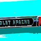 Chevrolet Apache Emblem by Tina Hailey