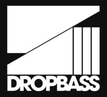 DROPBASS LOGO (white) by DropBass