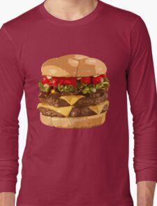 Fat Burger Long Sleeve T-Shirt