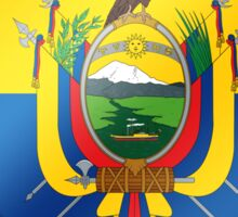 Ecuadorian Flag - Ecuador - Heart Sticker