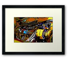 Chevrolet Engine Framed Print