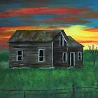 Old house by the sunset by maggie326