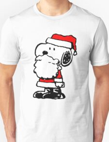 Santa Claus Snoopy T-Shirt