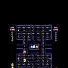 Pacman iPhone Case by Lee Eyre