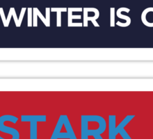 Stark 2012 for King in the North Sticker