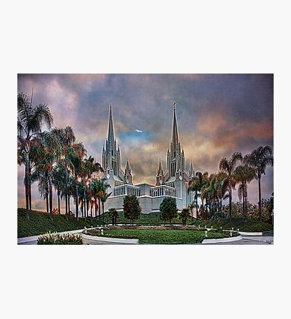 Heaven's Own Temple Photographic Print