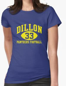 Dillon Panthers Football #33 Womens Fitted T-Shirt