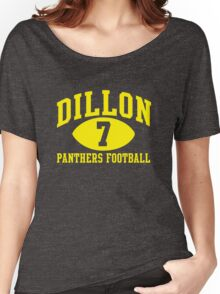 Dillon Panthers Football #7 Women's Relaxed Fit T-Shirt