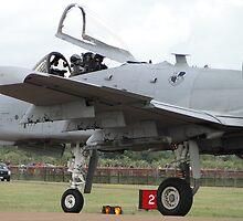 A-10C Thunderbolt II aka Warthog by Barrie Woodward