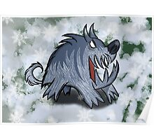 Ice Hound, Don't starve Poster