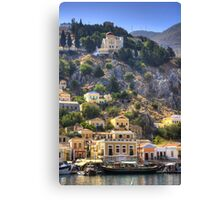 Outside the Captain's Hotel Canvas Print