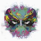 Stunning Abstract Mask  by Tiffany Garvey