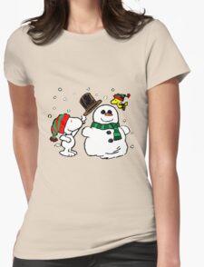 Snoopy Snowman T-Shirt