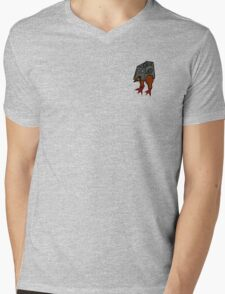 TROOPER CHICKEN Mens V-Neck T-Shirt