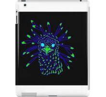 Secretary Bird Blue and Green Print iPad Case/Skin