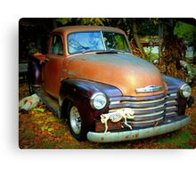 Chevy 3600 Advance Design Truck Canvas Print
